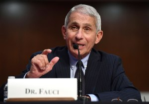 Dr. Anthony Fauci, director of the National Institute for Allergy and Infectious Diseases, testifies before a Senate Health, Education, Labor and Pensions Committee hearing on Capitol Hill in Washington, Tuesday, June 30, 2020. Image: Kevin Dietsch/Pool via AP