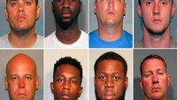 8 La. police officers accused of excessive force