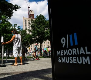 The speakers will read the names of the nearly 3,000 victims who lost their lives in the Sept. 11, 2001 attacks following social distancing measures.