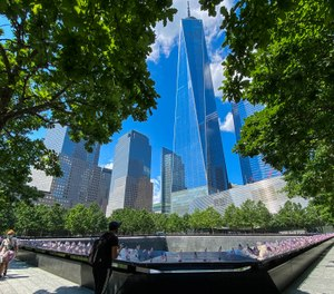 Vice President Mike Pence will speak at a 9/11 memorial ceremony hosted by the Tunnel to Towers Foundation near Ground Zero on Friday, the foundation announced. (AP Photo/Eduardo Munoz Alvarez)