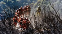 Inmate FF injured battling Calif. wildfire faces deportation due to convictions