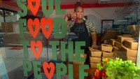 Brooklyn restauranteur gives back to community with thousands of free meals each weekend
