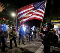 Portland protests relatively calm after US drawdown