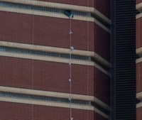 Okla. murder suspect escapes 12th floor cell using sheets