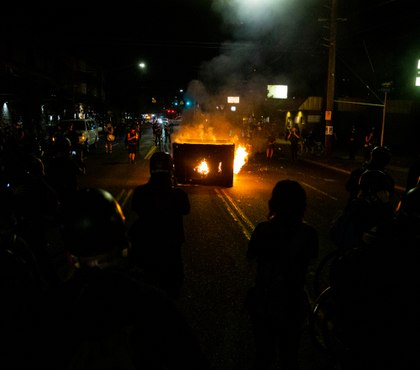 Portland unrest continues as mayor decries violence