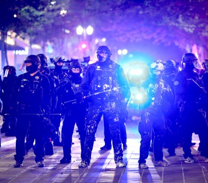 State police exit Portland after 2 weeks of protest duty