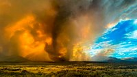 Video: Massive wildfire spawns fire tornadoes in northern Calif.