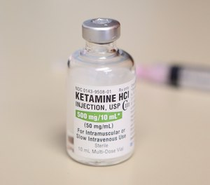 The use of ketamine, as seen here in a file photo, will be restricted for EMS professionals when treating agitated patients.