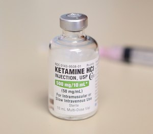 The state department grants waivers to first responders to use ketamine to treat extreme agitation in a non-hospital setting.