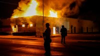 Video: Multiple fires set in Wis. city after police shooting