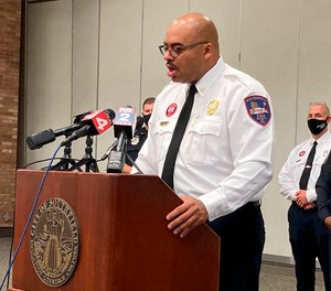 Southfield Fire Chief Johnny Menifree held a press conference in August saying four EMS providers at the scene where Timesha Beauchamp was declared dead, before later being found alive, were placed on leave pending the department's investigation.