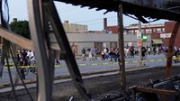 Kenosha protests peaceful after night of chaos and shootings