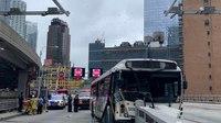 FDNY: 16 hurt in bus crash near Port Authority