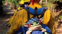 Added Force: Baby Yoda a boost on Western wildfire lines