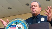 LAPD cop cleared of wrongdoing for George Floyd 'Valentine'