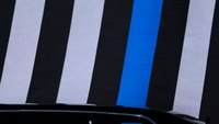 What does the thin blue line flag mean?