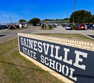 The Gainesville State School for juveniles in Gainesville, Texas.
