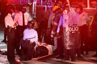 30 cops injured, 1 run over, after fatal OIS sparks violence in Philadelphia