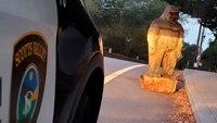 Calif. police recover stolen Bigfoot statue