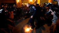 21 arrested, 4 cops injured during weekend unrest in DC