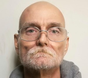 This booking photo shows Johnny Dwight Whited, who authorities say was arrested in a 1995 slaying after calling police with information on Nov. 18, 2020.
