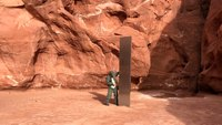 State helicopter crew finds mysterious monolith in Utah desert