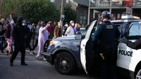 Portland police, demonstrators clash over eviction order