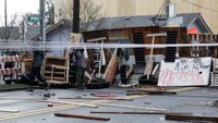 Portland eviction protest, blockade stretches into 3rd day