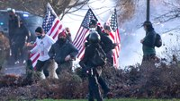 1 person shot in violent clash at Washington state protest