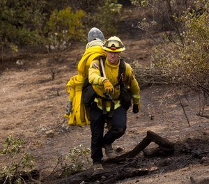While there has been an emphasis on cleaning structural firefighting clothing following structural fires, the same is not true for wildland firefighting.