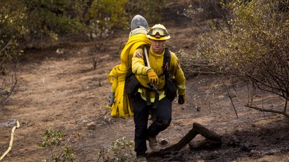 Contamination and cleaning of wildland firefighting gear