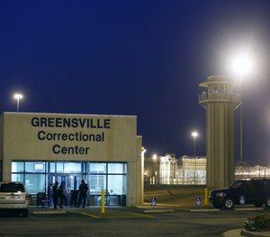 The entrance to the Greensville Correctional Center, where executions are carried out, in Jarratt, Va.
