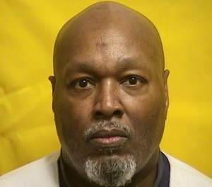 Romell Broom, an Ohio death row inmate who survived a botched execution attempt in 2009.
