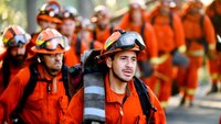 Calif. may hire more than 600 firefighters after shortage at inmate camps