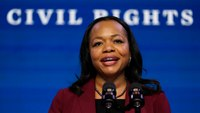 Police groups endorse Biden's pick for civil rights chief