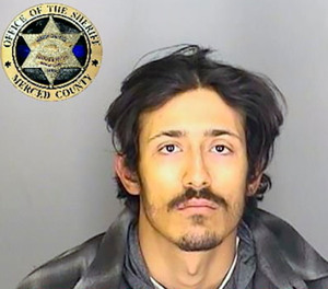 This undated booking photo released by the Merced County Sheriff's Office shows escapee inmate Edgar Eduardo Ventura.