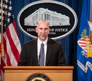 Steven D'Antuono, head of the FBI Washington field office, speaks during a news conference Tuesday, Jan. 12, 2021, in Washington.