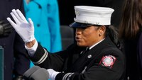 '31 words': Capt. Andrea Hall reflects on leading Inauguration Ceremonies' Pledge of Allegiance