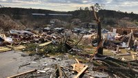 'The clock was ticking': Ala. rescuers amputate man's leg to free him after tornado