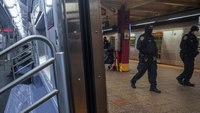 Assaults on NYC subway cops tripled in January from last year