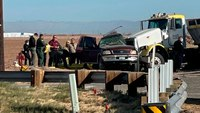 Calif. crash kills 13 of 25 people crammed into SUV