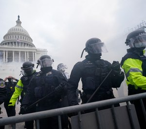 Documents obtained by the Associated Press show only two paramedics were on the Capitol steps triaging and treating injured officers during the Jan. 6 riot in Washington, D.C.