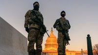 More than 1,000 Guard troops now leaving DC; others stay on