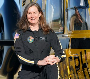 Flight Paramedic Rita Krenz raised more than $18,000 for the nonprofit charity RIP Medical Debt to help patients with financial hardships.