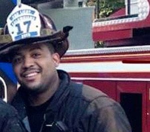 Spring Valley Firefighter Jared Lloyd, 35, was killed battling a blaze at an assisted living facility on Tuesday. A fundraiser has been set up to support his two sons Darius, 5, and Logan, who turned 6 on Wednesday.