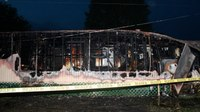 Mobile home fire attack: Key factors for firefighters