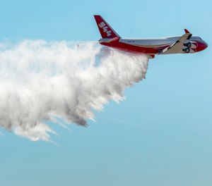Alterna Capital Partners LLC, which owns the Global SuperTanker, the world's largest firefighting plane, is considering selling the aircraft so it can be used to aid in COVID-19 response.