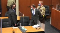 Chauvin's lawyer seeks new trial, hearing to impeach verdict