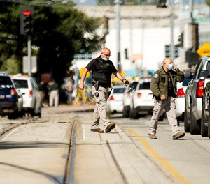 Officials say multiple people were killed and wounded in a shooting at a San Jose railyard on Wednesday.