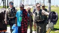 LA sheriff sends deputies to assess Venice Beach homeless crisis